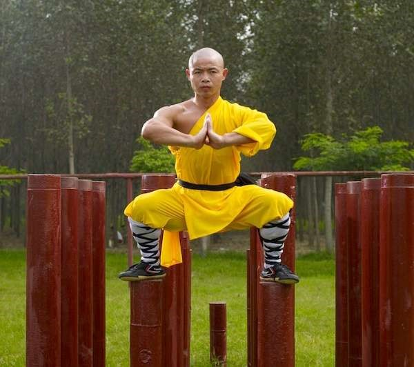 Shaolin Kung Fu Training Methods of the Shaolin Monks pillar skill