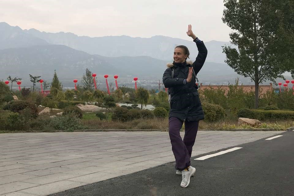 master shi yanchen wuguan shaolin kung fu training china uptrek guest review